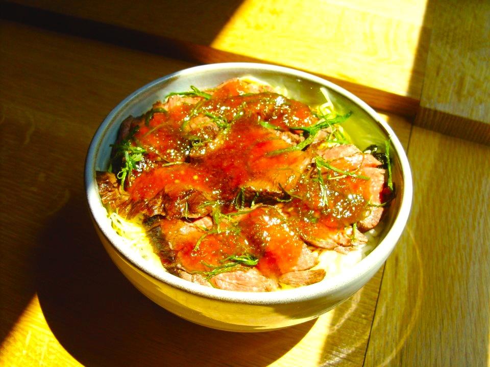 Steak Don Special @ Sushi Taro