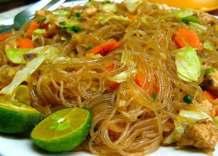 Pancit rice noodles runinout food fun fashion