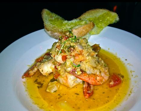 Shrimp Scampi @ One Lounge