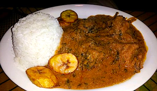 Bukom Cafe Chicken Curry