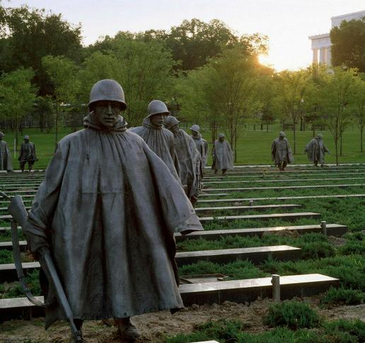 Korean WW2 Memorial
