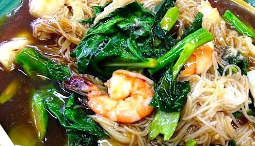 Thai Seafood Noodles @ Thai Market