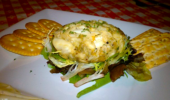 One Eyed Crab Cake