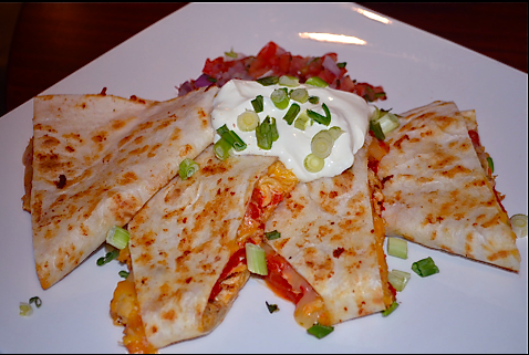 Rosie's Quesadilla @ Jake's American Grille