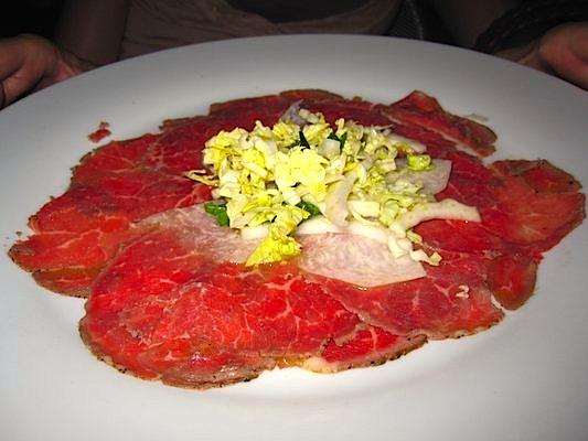 Thai Beef Carpaccio @ Room 11
