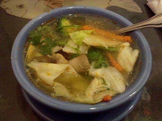Veggie Tom Yum Soup