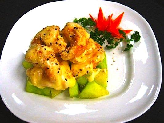 Creamy Sesame Shrimp
