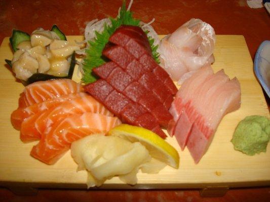Tachibana Japanese Sashimi Dinner