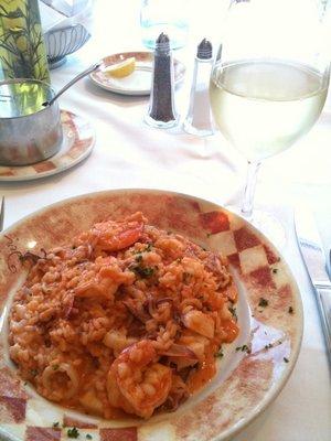 Seafood Risotto @ Piccola Roma Restaurant