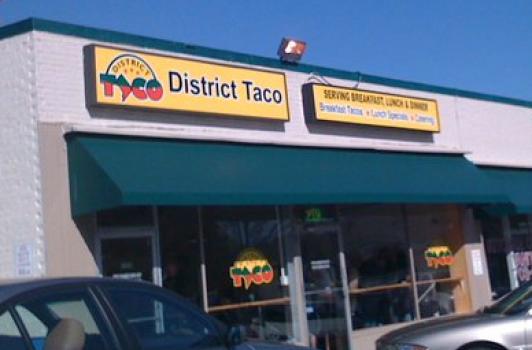 District Taco @ Arlington