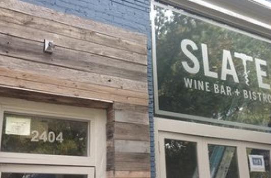 Slate Wine Bar & Bistro - Glover Park DC | Runinout Food ...