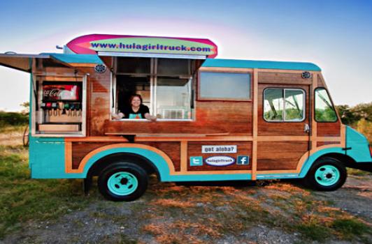 Hula Girl Truck Runinout Food Fun Fashion
