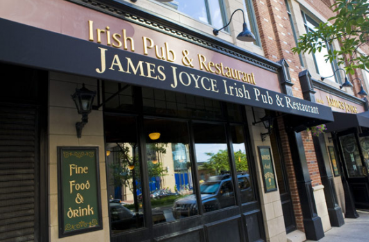 The James Joyce Irish Pub and Restaurant