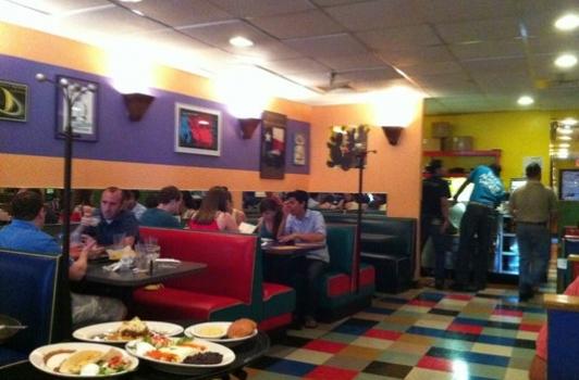 inside Austin Grill