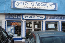Chris' Charcoal Pit @ Annapolis