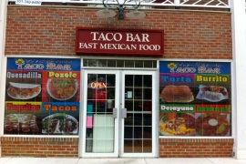 Taco Bar - Gaithersburg MD