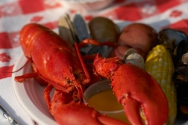 Foster's Steamed Lobster @ Foster's Downeast Clambake
