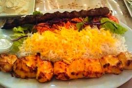 Chicken Soltani & Kubideh
