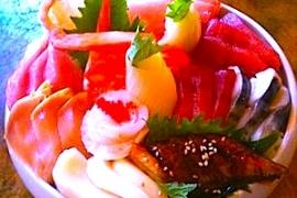 Chirashi @ Thai Chef
