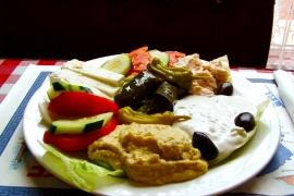 Greek Combo @ Havabite Eatery