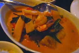 Red Curry w Shrimp