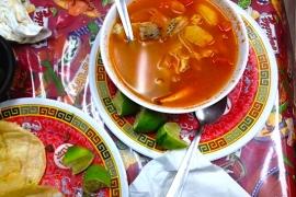 Mexican Seafood Soup @ La Sirenita