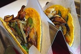 Vegan Mushroom Taco @ Oyamel