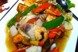 Shrimp Tofu Noodles