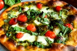 Cafe Pizzaiolo Pesto Pizza