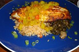 Bayou Blackened Catfish