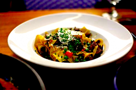 Braised Lamb Pappardelle