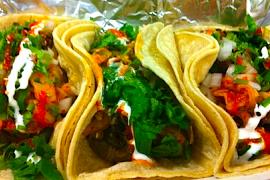 Far East Steak Tacos