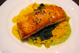 Salmon on Risotto @ Kora