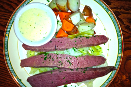 Corned Beef & Cabbage @ Ireland Four Provinces