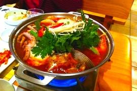 Seafood Hot Pot @ Moa Korean