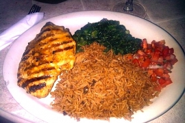 Swahili Grilled Chicken