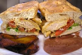 Salvadoran Chicken Sandwich