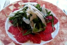 Beef Carpaccio @ Piccola Roma Restaurant