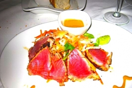 Fleming's Seared Ahi Tuna