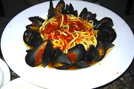 Linguine w Mussels