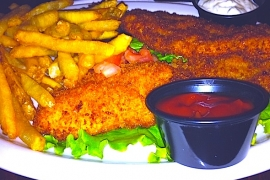 Fish and Chips @ Penn Quarter Sports Tavern