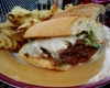 Rhodeside Grill Philly Cheesesteak