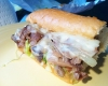 Pumpernickel's Philly Cheese-steak @Pumpernickel's Bagelry & Delicatessen