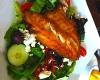 Italian Seabass Salad @ Boulevard Woodgrill